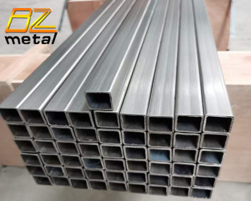 High Quality Good Price Grade 1 Grade 2 Pure Titanium Seamless Square Tube