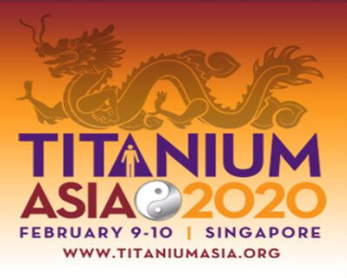 TITANIUM ASIA 2020 on 9th to 10th. Feberuary in Singapore