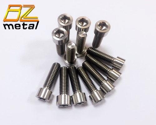 Metric Bolt High Strength Titanium Bolts ANSI/ASME B 18.3 Hexagon Socket Head Cap Screws