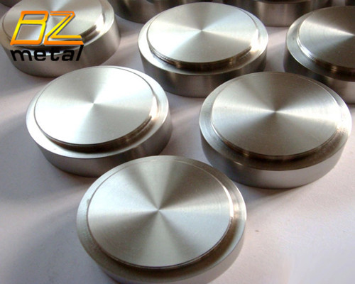 Titanium target for sputtering PVD coating