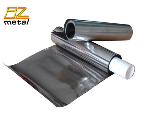 High Purity Mirror Surface 0.05mm Thickness pure Titanium Foil