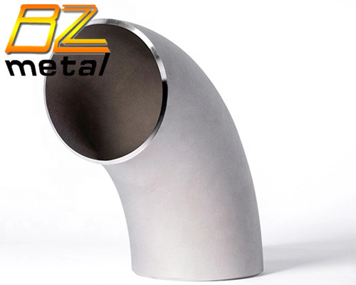 ASME Welding Seamless Pipe Fitting Titanium 90 Degree Long Radius Elbow