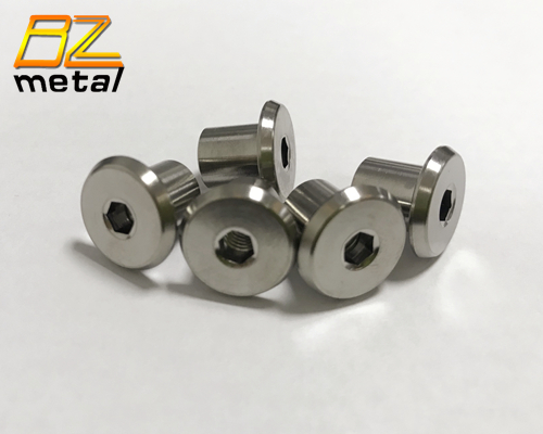 Titanium alloy hollow bolts for Mountain bike