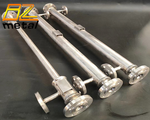 Custom CNC precision titanium part chemical equipment accessories