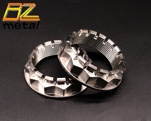 Titanium Gr.5 V4 Rear Wheel Nuts for Ducati Motorcycle with High Quality