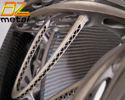 Domestic Titanium Alloy 3D Printed 2-Piece Wheels Will Be Loaded and Used