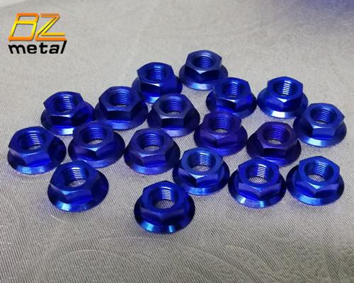Titanium Flange Nut DIN 6923