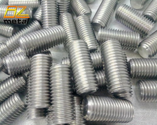 Titanium Hex Socket Set Screws
