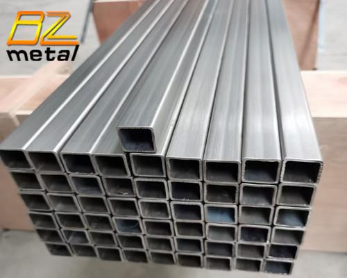High Quality Good Price Grade 1 Grade 2 Pure Titanium Seamless Square Tube