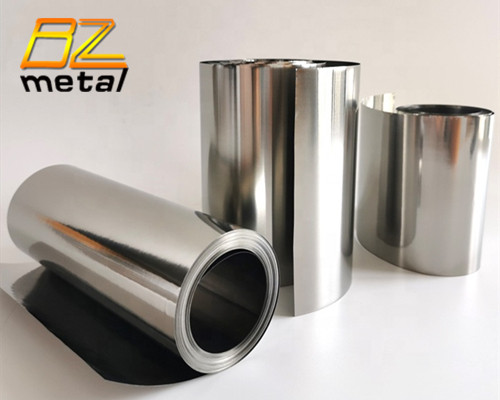 High quality titanium foil 0.1mm 0.2mm 0.5mm thickness ASTM B265 GR1 GR2 titanium sheet for industry