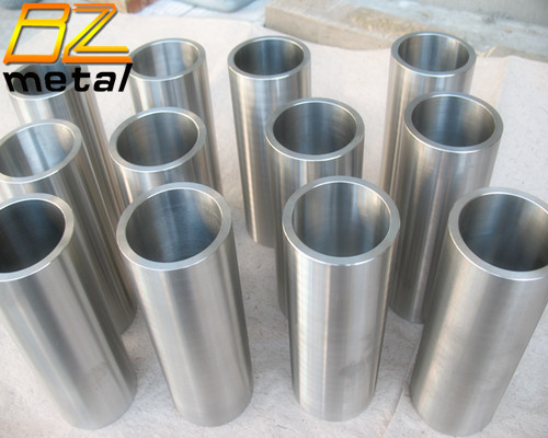 High Performance ASTM B381 Forged Gr2 Gr5 Titanium Tubes