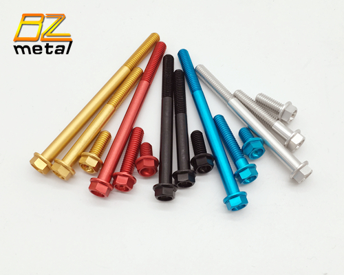 Widely Used Aluminum Flange Bolts in High Quality