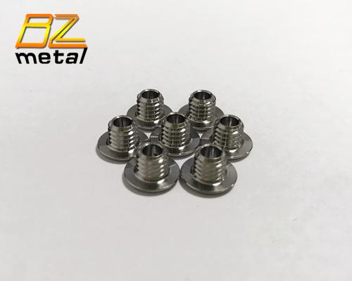 Best quality good price Titanium alloy hollow bolt for Mountain bike