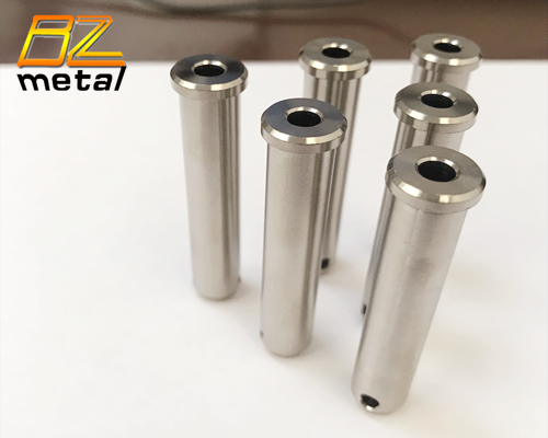 Titanium Alloy Machined Parts with Through Hole in High Quality