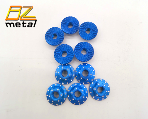 Aluminum Alloy Wheel Nuts in Blue Color with High Quality