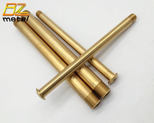 Anodized Golden Titanium Front Wheel Axle for Motorbike