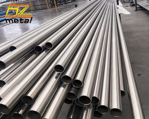 Titanium Pipe Titanium Seamless Tube ASTM B338 Gr2 Titanium Tube for Heat Exchanger
